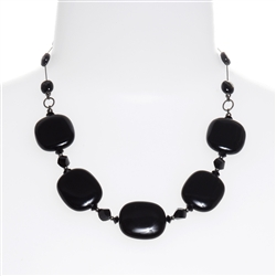Ashley Necklace - Black Onyx