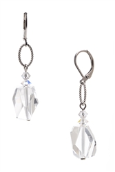 Brianna Drop Earring - Crystal Mix