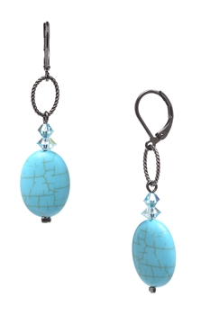 Brianna Drop Earring - Turquoise