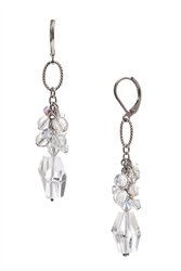Brianna Long Earring - Crystal Mix