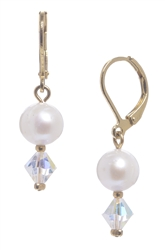 Clansy Pearl Drop Earring - Cream