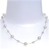 Clansy Pearl Necklace - Cream