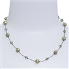 Clansy Pearl Necklace - Olivine