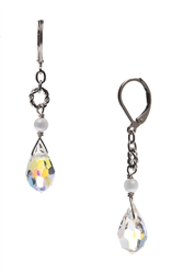 Carrie Drop Earring - Crystal