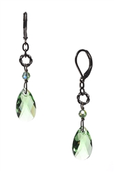 Carrie Drop Earring - Peridot Green