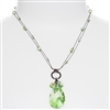 Carrie Necklace - Peridot Green