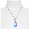 Carrie Necklace - Light Sapphire