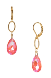Elizabeth Drop Earring - Orange