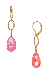 Elizabeth Drop Earring - Pink