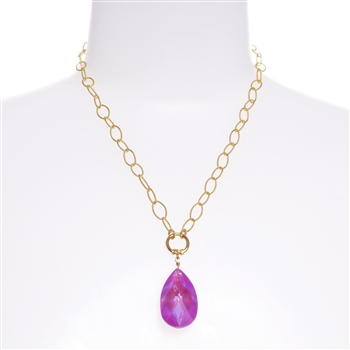 Elizabeth Necklace - Magenta