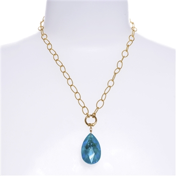 Elizabeth Necklace - Teal