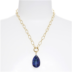 Elizabeth Necklace - Navy