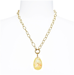 Elizabeth Necklace - Yellow