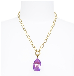 Elizabeth Necklace - Violet