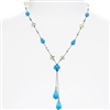 Felicia Necklace - Aqua Multi