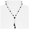 Felicia Necklace - Jet Black