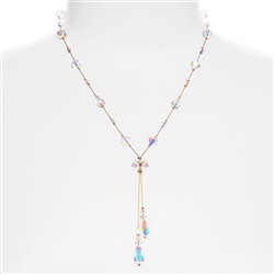 Felicia Necklace - Crystal