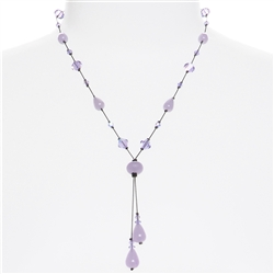 Felicia Necklace - Violet