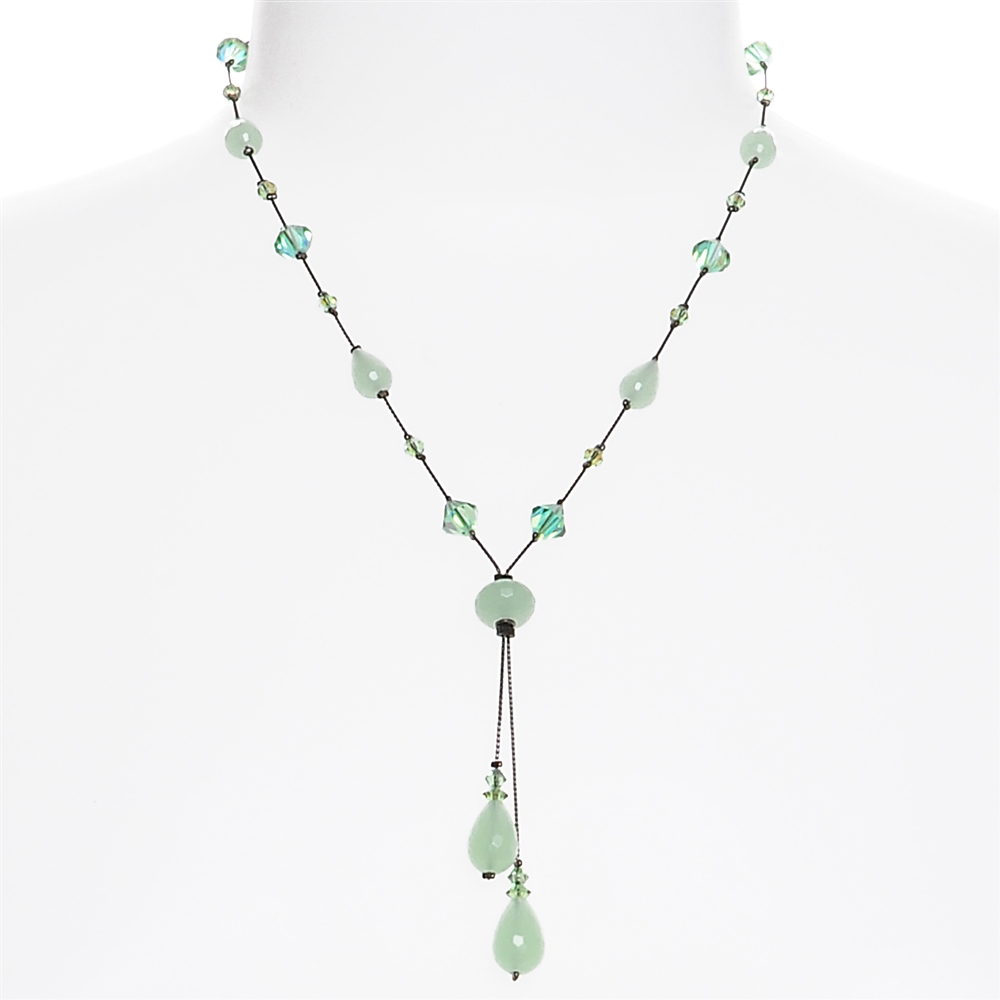 products green necklace bits of