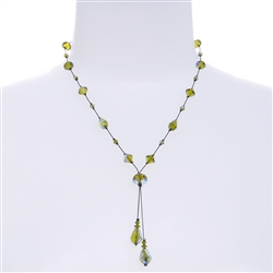 Felicia Necklace - Olivine