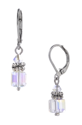 Heidi Drop Earring - Crystal