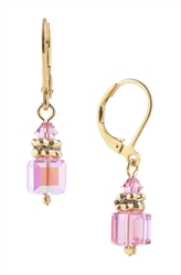 Heidi Drop Earring - Pink