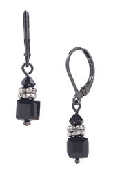 Heidi Drop Earring - Jet