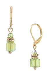Heidi Drop Earring - Peridot