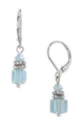 Heidi Drop Earring - Pacific Opal