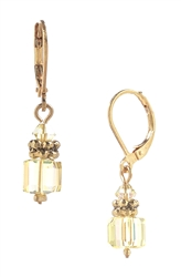 Heidi Drop Earring - Yellow