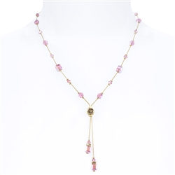 Heidi Necklace - Pink