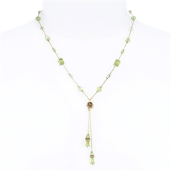Heidi Necklace - Peridot