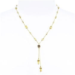Heidi Necklace - Yellow