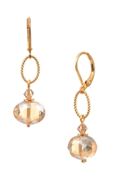 Hailey Earring - Golden Shimmer