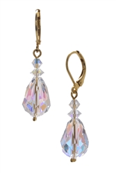 Annie Drop Earring - Clear Crystal