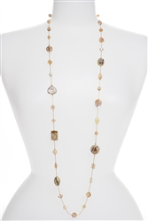 Annie Illusion Necklace - Natural Ivory