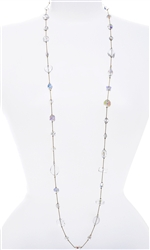 Annie Illusion Necklace - Crystal Mix