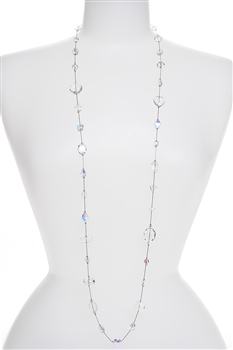Annie Illusion Necklace - Crystal
