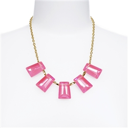 Kylie Necklace - Pink