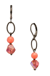 Lyla Drop Earring- Coral