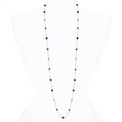 Lyla Necklace - Jet