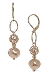 Lauren Pearl Drop Earring - Gold