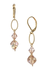 Melinda Drop Earring - Lt. Colorado