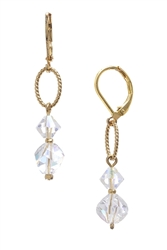 Melinda Drop Earring - Crystal