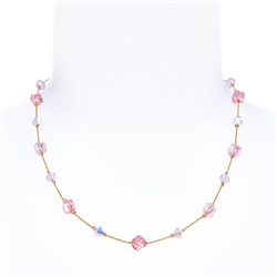 Melinda Necklace - Pink