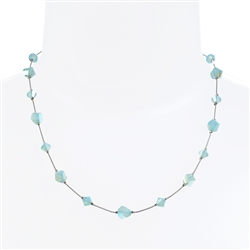 Melinda Necklace - Aqua