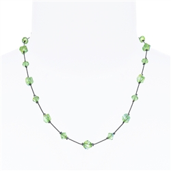 Melinda Necklace - Peridot