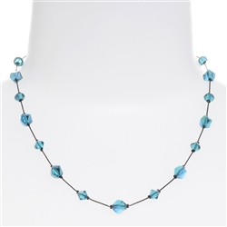 Melinda Necklace - Teal
