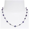 Melinda Necklace - Purple