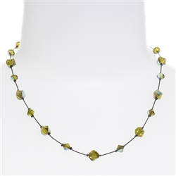 Melinda Necklace - Olivine